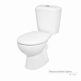 Tualetes pods WC Keramin Grand, balts