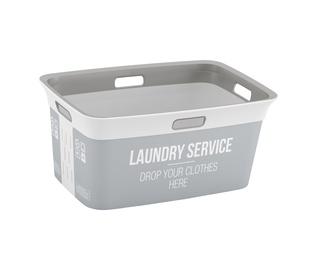 """SKALBINIŲ KREPŠYS """"LAUNDRY SERVICE""""; 45 l (KIS)"""