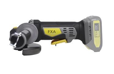 Akumulatora leņķa slīpmašīna FXA Xclick D125mm, 18V