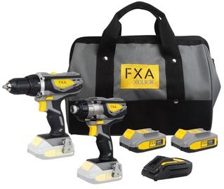Akumulatora instrumentu komplekts FXA Xclick Combokit 18V