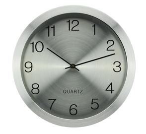 Sienas pulkstenis EG7764A-YP166 30cm, alumīnija