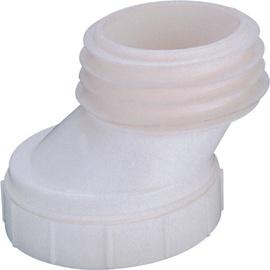 WC ühendus eksentrik 124x141x168mm valge