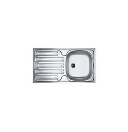 Virtuves izlietne ar ventili Franke CIN 611 Inox 78x43,5cm