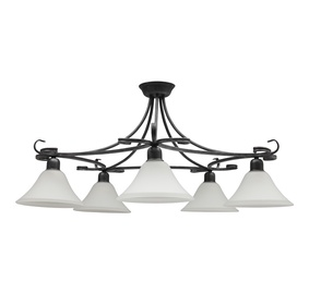 LAMPA SIENAS FLORES 3528 5X60W E27 (NOWODVORSKI)