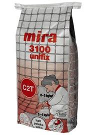 Plaadisegu Mira 3100 Unifix, hall, 25 kg