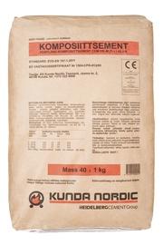 Tsement CEM II 42,5R põlevkivi/punane 40kg