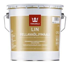 Linaõlivärv Tikkurila Lin Pellavaöljymaali, valge (AW) 2,7L