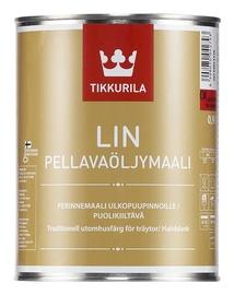 Linaõlivärv Tikkurila Lin Pellavaöljymaali, valge (AW) 0,9L