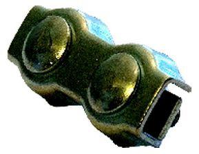 Trossi plaatlukk Certex 5mm 2tk