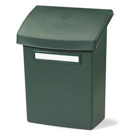Postkast vahekaanega Orthex, plastik roheline