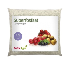 Väetis superfosfaat Baltic Agro 1kg