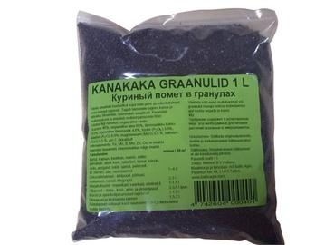 Väetis kanakaka graanulid Baltic Agro 1L