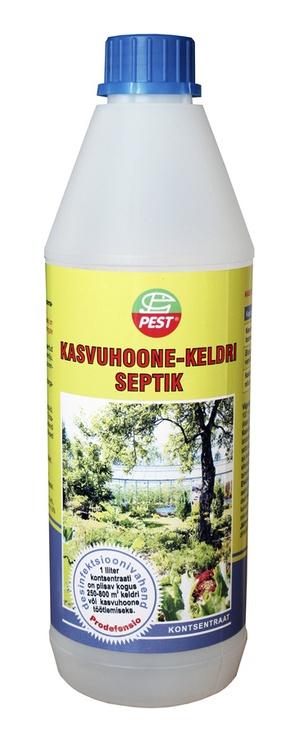 Kasvuhoone-keldri septik Pest, kontsentraat, 1 l