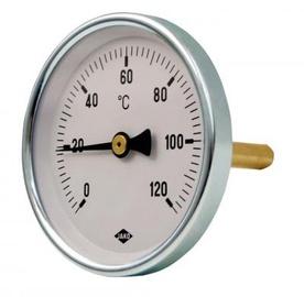 Termomeeter Ø63mm bi-metall, 0-120, 1/2 L5