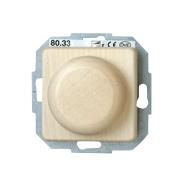 Elektrooniline valgusregulaator Kopp Milano Maple, süvistatav raamita