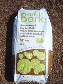 Männikooremultš Baltic Bark, 80L, 0-15mm
