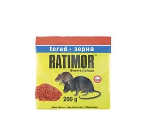 Hiire- ja rotimürk Ratimor, viljaterad, 200 g