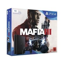 Žaidimų kompiuteris Sony PS4 SLIM 1TB su žaidimu Mafia 3