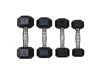 Šešiakampiai svarmenys VirosPro Sports, 2x6 kg