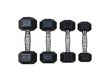 Šešiakampiai svarmenys VirosPro Sports, 2x10 kg