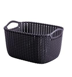 Korv Curver Knit S SQR purpurne