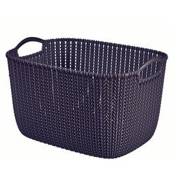Korv Curver Knit L SQR purpurne
