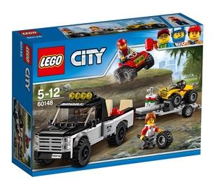 Konstruktorius LEGO City, Keturračių lenktynių komanda 60148