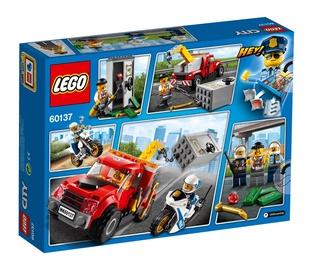 Konstruktor Lego City 60137 Jama puksiirautoga