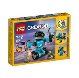 Konstruktors Lego Creator, robots pētnieks