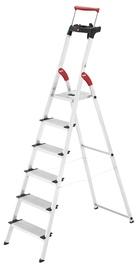 Mājsaimniecības kāpnes Hailo Comfortline XXR 128cm, 6pak.