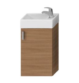 Izlietne ar skapīti vannas istabai Jika Petit 38,6x58,5x22,1cm, brūns