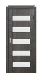 Durų varčia Cortex04, pilkas ąžuolas, 2000 x 800 mm