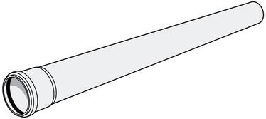 Kanalisatsiooni muhtoru HTP 50x1,8 2m hall