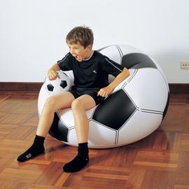 Piepūšamais krēsls - futbola bumba Bestway 75010 114x112x71cm