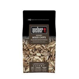 Suitsulaastud Weber hikkoripuu, 0,7 kg