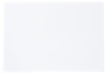 Keraamiline plaat Kide, 25x40cm, valge läikiv