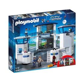 Konstruktors Playmobil, policijas galvenā ēka un cietums