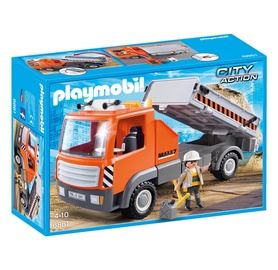 Konstruktors Playmobil, strādnieka kravas mašīna