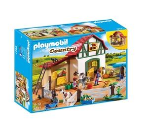 Konstruktors Playmobil, poniju stallis