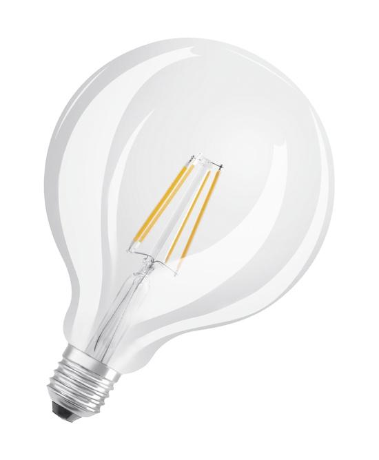 63c1df7bf8c LED- lamp Osram Retrofit Classic Globe G125, 4W/827, E27