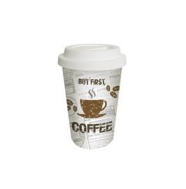 "PUODELIS SU DANGTELIU ""FIRST COFFEE"" (300 ml, 602442) (PPD)"