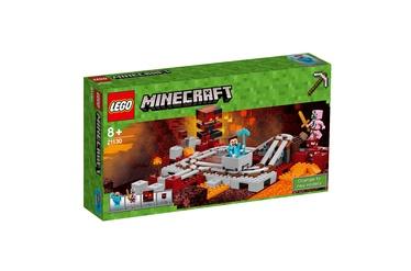 "Konstruktorius LEGO Minecraft, ""The Nether"" geležinkelis 21130"