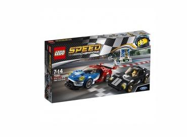 Konstruktorius LEGO Speed Champions, 2016 Ford GT ir 1966 Ford GT40 75881