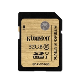 Atminties kortelė Kingston SDHC CL10, 32GB