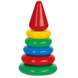 Žaislinis lavinamasis bokštas, 6 dalių