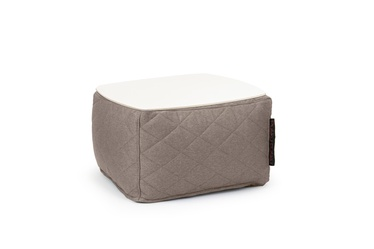 "PUFAS-STALIUKAS ""SOFT TABLE 60 QUILTED NORDIC CONCRETE"""
