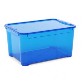 Daiktadėžė Omni Box, mėlyna,  su dangčiu 55.5x39x28.5 cm