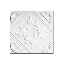 Klijuojamos lubų plokštės Anet s; 0,5 x 0,5 x 0,008 m.