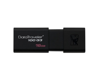 ATMINTIES RAKTAS USB 3.0 16GB DATATRAVELER 100 G3 KINGSTON