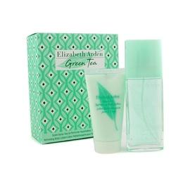 Rinkinys Elizabeth Arden Green Tea: parfumuotas vanduo EDP 100ml + 100ml kūno losijonas, moterims
